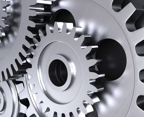 Lubricants ensure that the wheels in industry do not stand still.  Photo: Adobe Stock